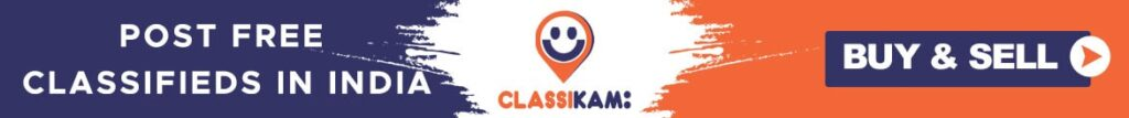 Post Free Classifieds in India - ClassiKam
