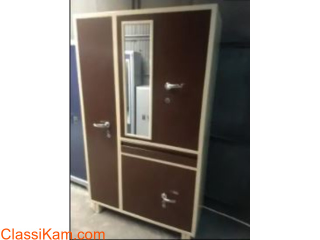 Full size metal wardrobes at discounted price - 1