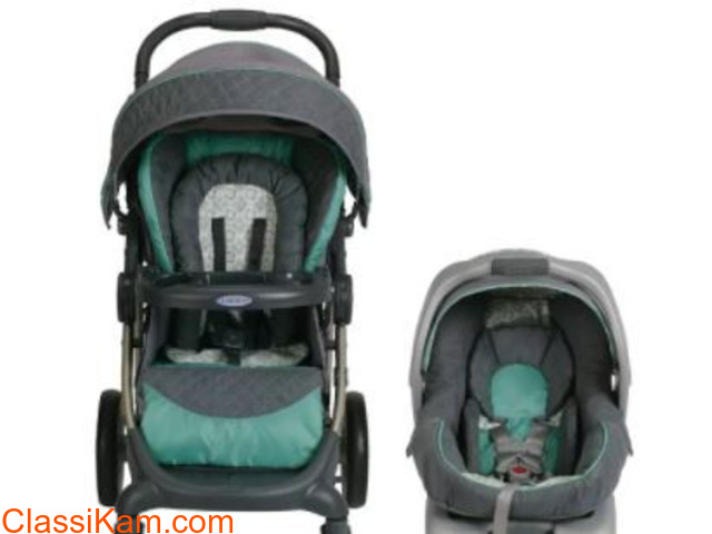 Graco Stroller and car seat - 2
