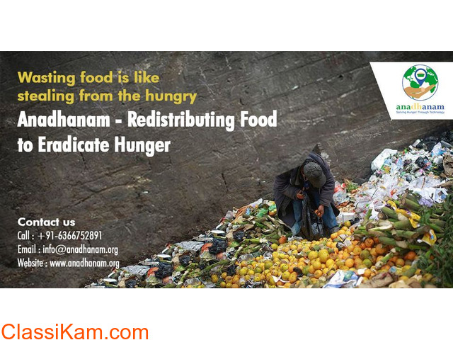Solving Hunger through Technology - Anadhanam - 1