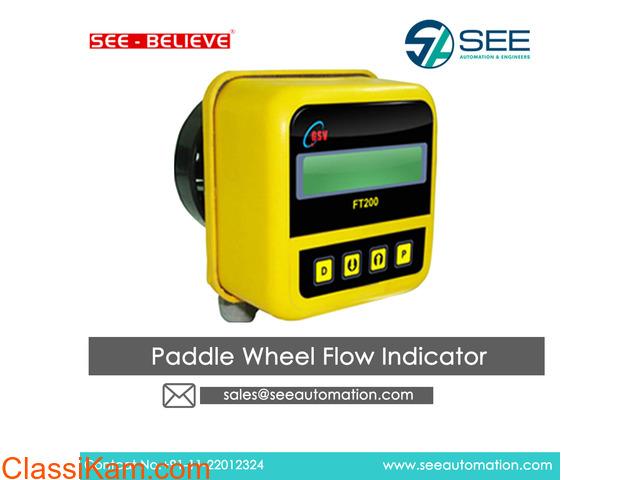Paddle Wheel Flow Indicator Suppliers,Traders - 1