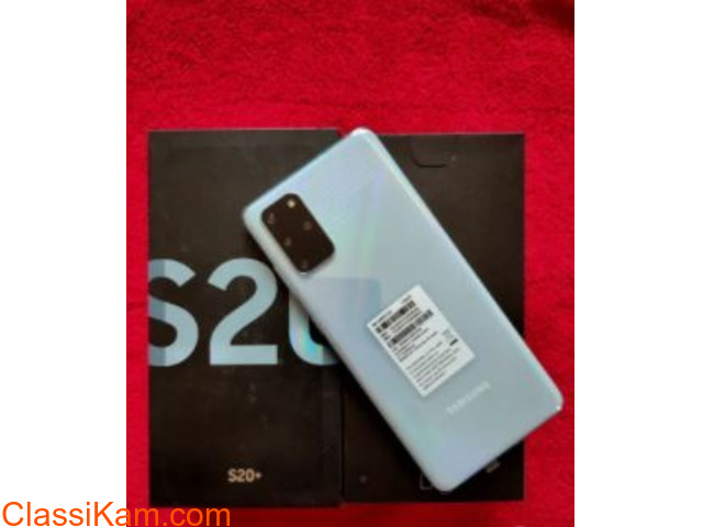 Samsung S20 Plus only  Three Months Used - 2