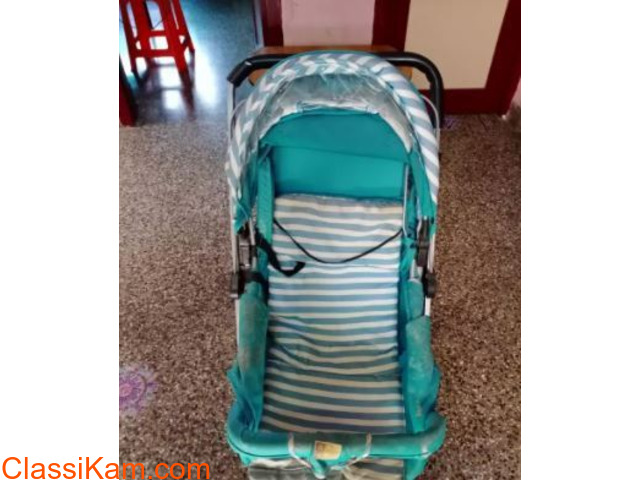Baby stroller one time used... Mee mee brand. - 1