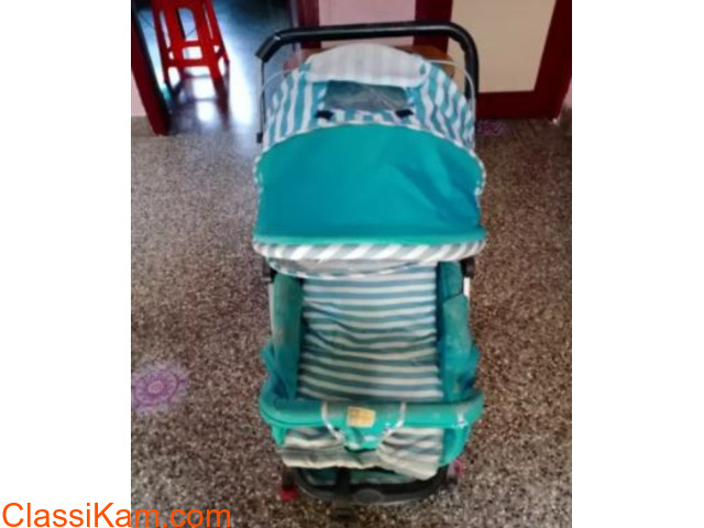 Baby stroller one time used... Mee mee brand. - 2