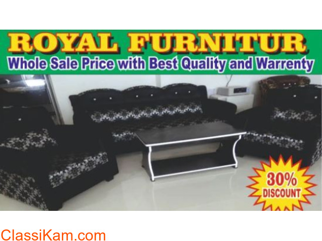 Royal Chocolate Sofa( Royal Furniture)14 - 1