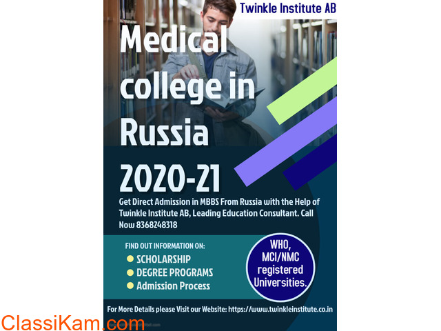 Study MBBS Abroad In Russia 2020-21 Twinkle InstituteAB - 1