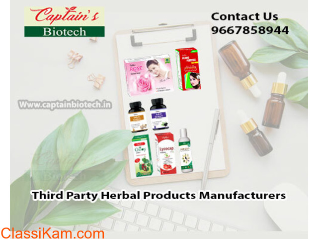Third Party Herbal Products Manufacturers - 1